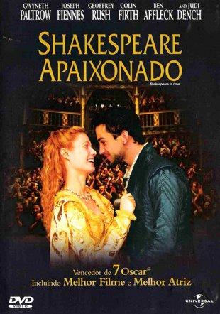 Capa do filme: Shakespeare Apaixonado