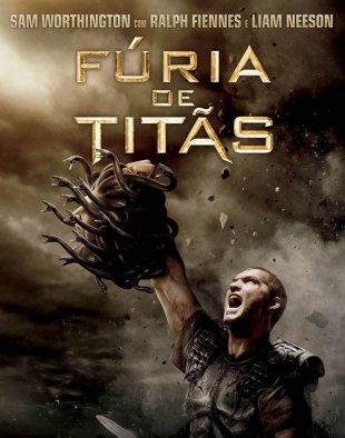 Capa do filme: Fúria de Titãs