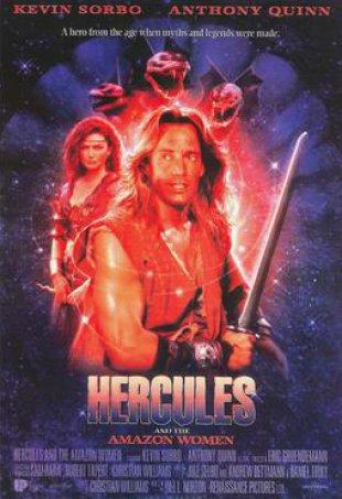 Capa do filme: Hércules e as Amazonas