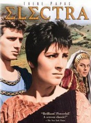 Capa do filme: Electra, a Vingadora