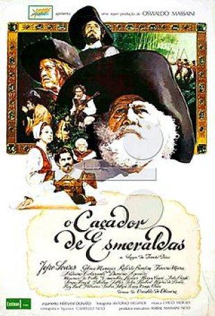 Capa do filme: O Caçador de Esmeraldas