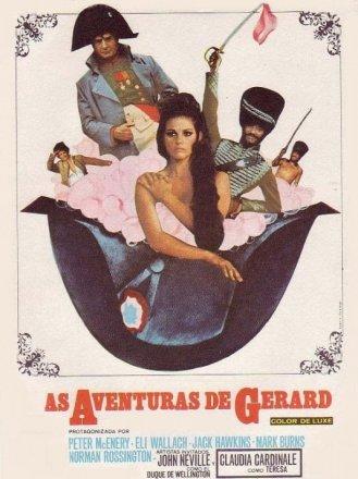 Capa do filme: As aventuras de Gerard