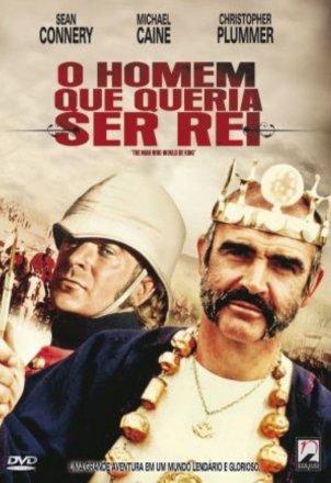 Capa do filme O Homem que Queria ser Rei (1975)