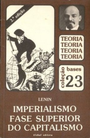 Capa do livro: Imperialismo: Fase Superior do Capitalismo